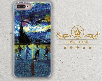 Starry Night, iPhone 7 case, iPhone 6S Case, iPhone 7 case, iPhone 7 Plus case, iPhone 8 Case, iPhone 6S Plus, iPhone 8 Plus, 290