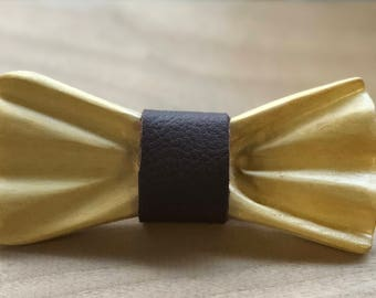 Hand Carved Maple Bow Tie