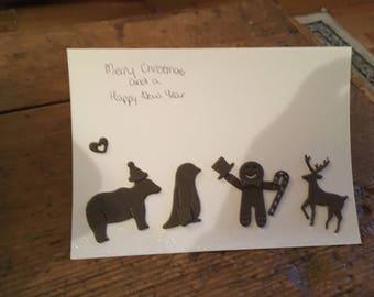 Character Christmas Card