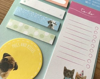 Animal Sticky Notes Collection