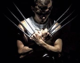 Wolverine | Wolverine claws | wolverine cosplay | wolverine costume | xmen | adamantium claws | logan claws | xmen | the wolverine | prop |