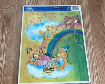 1986 Care Bears puzzle.