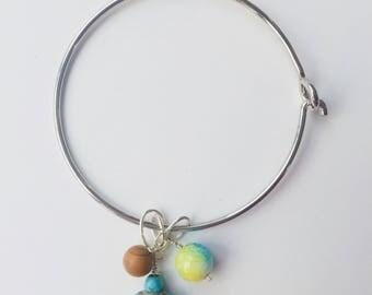 Earth Turtle Beachy Dainty Bracelet Bangle