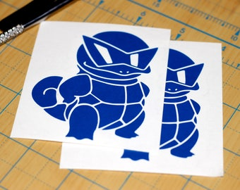 Squirtle squad decal  | Pokemon sticker