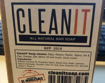 Handmade CleanIt All Natural Bar Soap