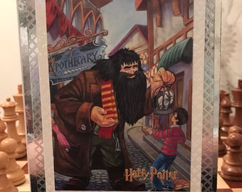 Harry Potter and Hagrid Handmade Card