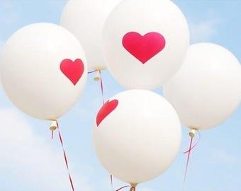 5 pcs/lot Heart novelty balloons. party balloons. wedding balloons birthday balloons, decor