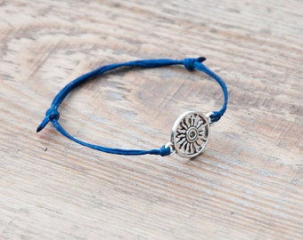 Sun bracelet gift under 10 Bracelet homme femme Beaded boho simple bracelet Sun lucky bracelet handcrafted for special gift