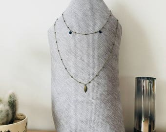 Double necklace Bime