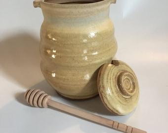Beehive Honey jar.