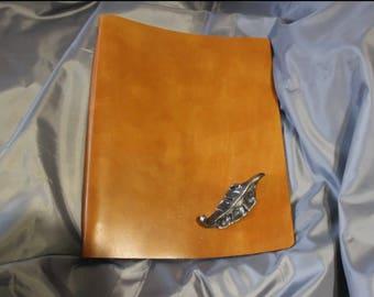 Leather folder «Autumn»