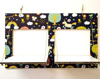 Decorated cardboard shelves-CARTONSOLE-model 020 CHILDREN
