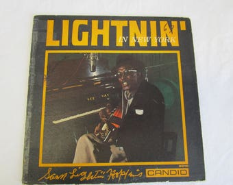 Sam Lightnin' Hopkins / Lightnin' in New York / Vinyl LP / Candid / CJM 8010