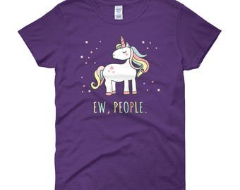 Ew People Unicorn Women's T-Shirt