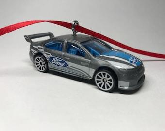 Ford Falcon Race Car Hot Wheels Christmas Ornament
