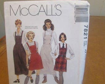 Sewing Pattern~McCall's~Size 4-8~Misses~Dress~Jumper