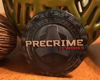Pre Crime It Works Minority Report Vintage Collectible Promotional Pin Button