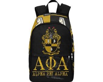 Alpha Phi Alpha Custom Fabric Backpack