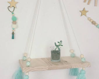 Hanging shelf Mint