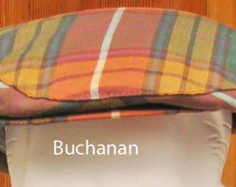 Wool Tartan Golf Caps