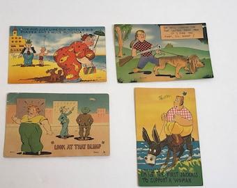 Vintage Funny Postcards