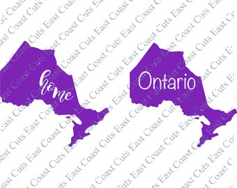 Ontario SVG/DXF/PNG