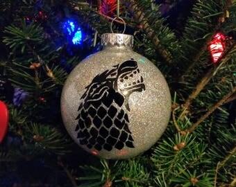 Game of Thrones- House Stark Christmas Ornament