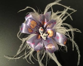 Frozen Character Hair Bow