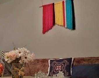 Modern Boho Wall Hanging