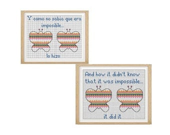 How I did not know... cross stitch pattern (download PDF)
