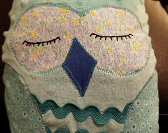 Adorable plush owl