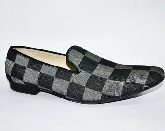 Black and Grey Chequered Sleen