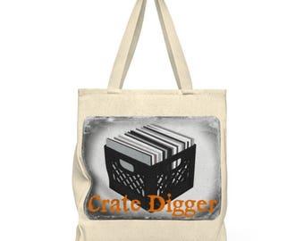 Crate Digger Tote Bag