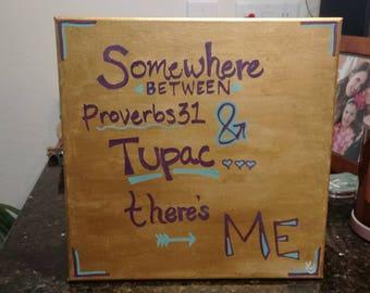 Proverbs & Tupac