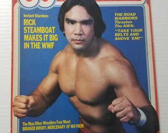 Rick Steamboat -Pro Wrestling Illustrated