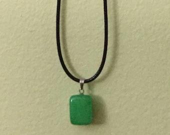 Green Adventurine Healing Pendant