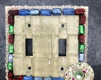 Mosaic Switchplates Stained Glass.