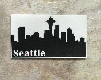 Seattle Car Decal