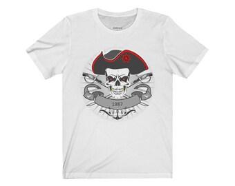 Jersey Short Sleeve 1987 Tee Shirt