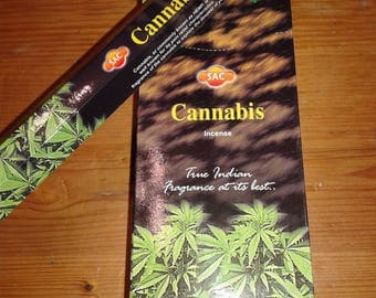 Incense Cannabis SAC 120 rods/6 by 20 Uni