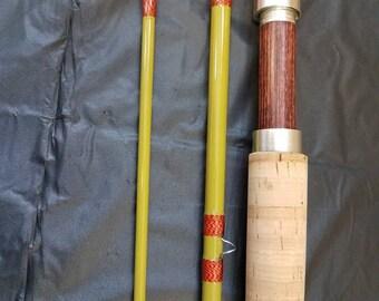 8 foot 5 weight fiberglass fly rod