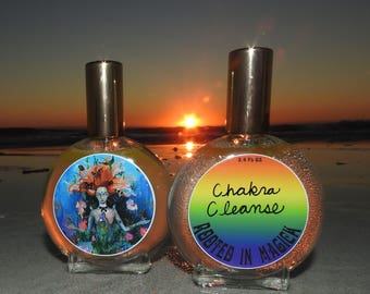 Chakra Cleanse Essential Oil Potion