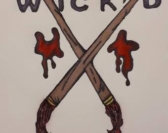 Wik'D Peinture Logo