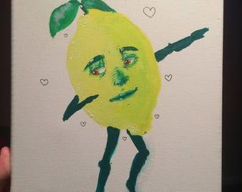Dabbing Lemon