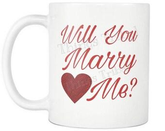 Will you marry me mug