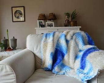 Living Blanket/Living plaid handmade