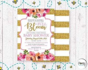 Full Bloom Baby Shower