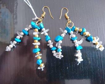 Beautiful handcrafted earrings