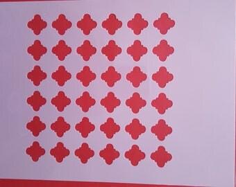 1792 stencils Wall Decals Airbrush Canvas textile design stencil Shabby chic wall Stencils decor template Tattoo