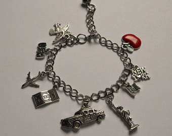 Inspired By The USA Traditional Style CHARM BRACELET